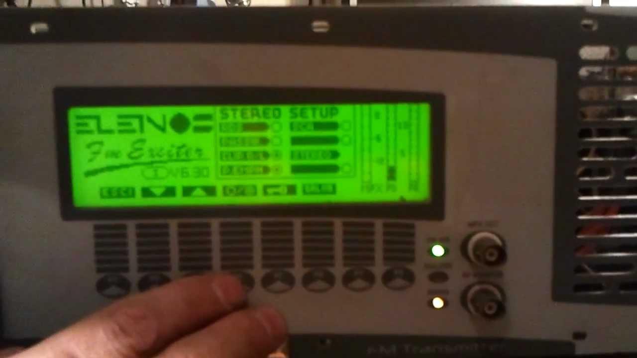 broadcast fm transmitter 88 108 mhz elenos etg 1000 rds. Black Bedroom Furniture Sets. Home Design Ideas