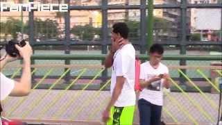 湖人新秀控衛Jordan Clarkson到訪香港,街場鬥牛大秀球技!