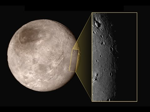 Mysterious mountain revealed in first close up of Pluto's moon Charon