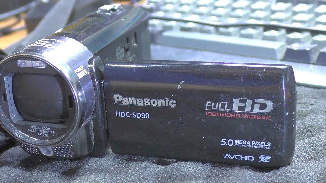 Обзор видеокамеры Panasonic HC-X810 - YouTube