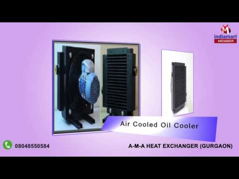Heat Exchanger and Air Cooled Oil Cooler By A-M-A Heat Exchanger, Gurgaon