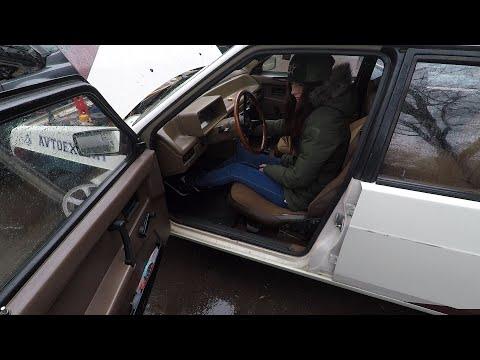 Lada Samara Cold Start | Girls In Car International Collaboration