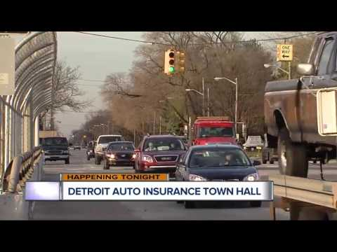 Town hall being held on Detroit car insurance rates