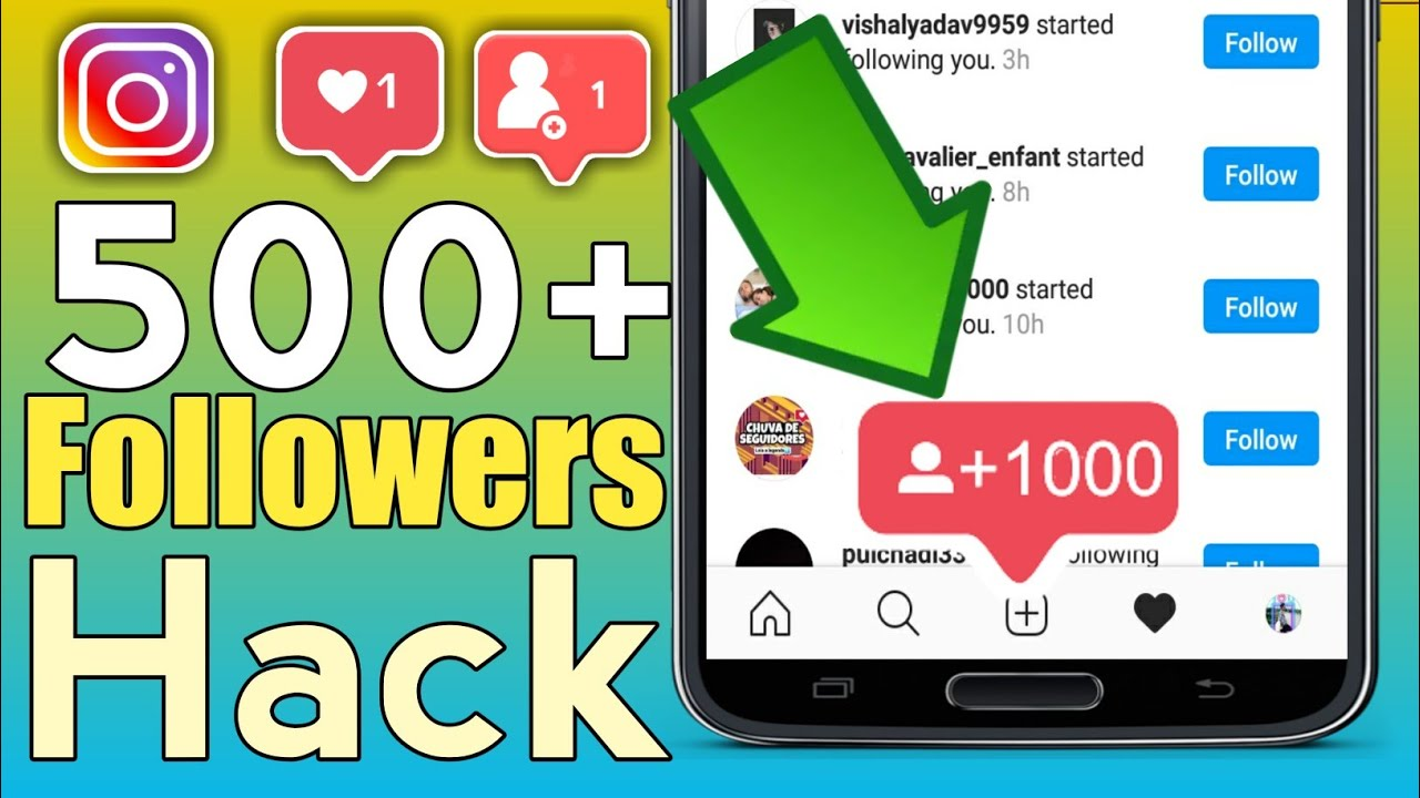 Get Real 500+ Instagram Followers and Likes🔥(2020) | Instagram Followers And Likes Without 🔥 Login