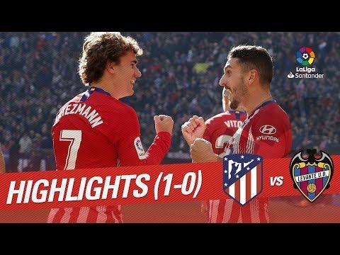 Highlights Atletico de Madrid vs Levante UD (1-0) Mp3