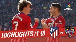 Download Video Highlights Atletico de Madrid vs Levante UD (1-0) MP3 3GP MP4