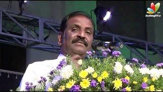 Vairamuthu Speech :  Your Teachers are bigger heroes than Ajith and Vijay