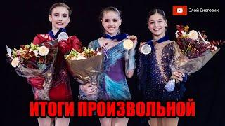 ИТОГИ ПРОИЗВОЛЬНОЙ ПРОГРАММЫ Девушки Чемпионат Мира среди Юниоров 2020 Таллин