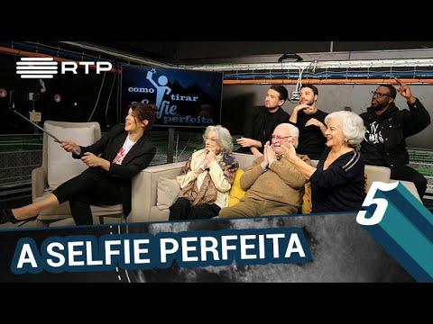 Como tirar a selfie perfeita | 5 Para a Meia-Noite | RTP