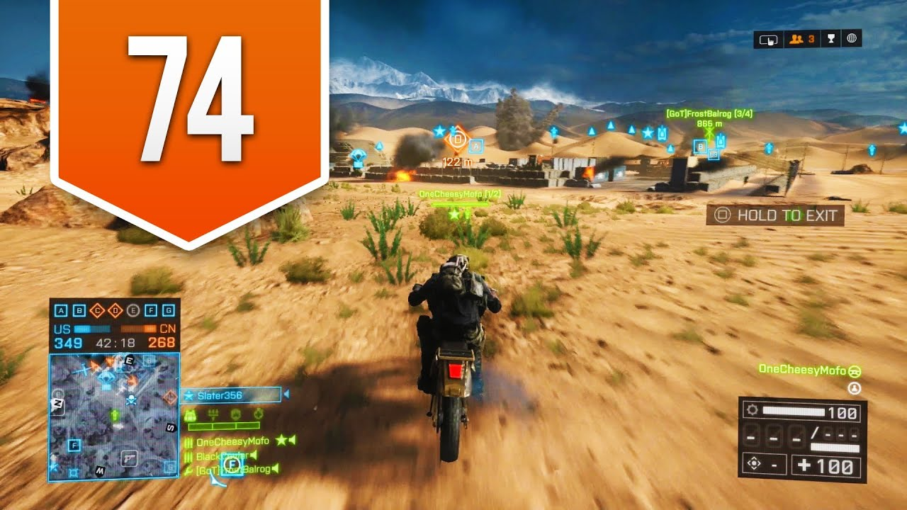 battlefield 4 ps4 road to colonel live multiplayer gameplay 74 dirt bike ride youtube. Black Bedroom Furniture Sets. Home Design Ideas