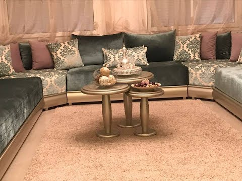 salon marocain youtube. Black Bedroom Furniture Sets. Home Design Ideas