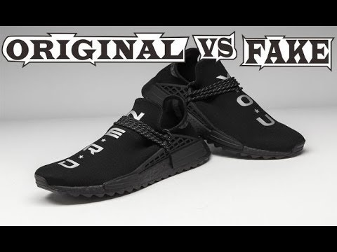 20438a5f25bf Adidas PW Human Race NMD TR N.E.R.D Original   Fake - YouTube