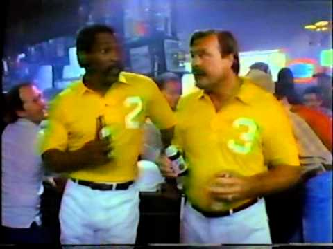 Miller Lite, 1984 09 02, Bubba Smith and Dick Butkus   polo