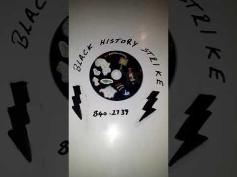 Black History strike