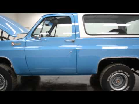 1976 Chevrolet K5 Blazer 4x4 - YouTube