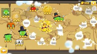 Angry Birds Seasons The Pig Days All levels part 2