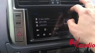 Обзор навигационного блока Navitouch NT3306 для Toyota Prado 150 с круговым обзором.