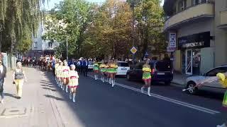Hubertus w Raciborzu 2017. Parada konna przez miasto