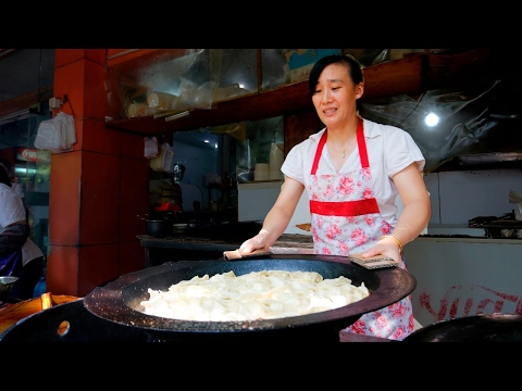 Thumbnail: Chinese Street Food Tour in Hangzhou, China | BEST Potstickers in China!