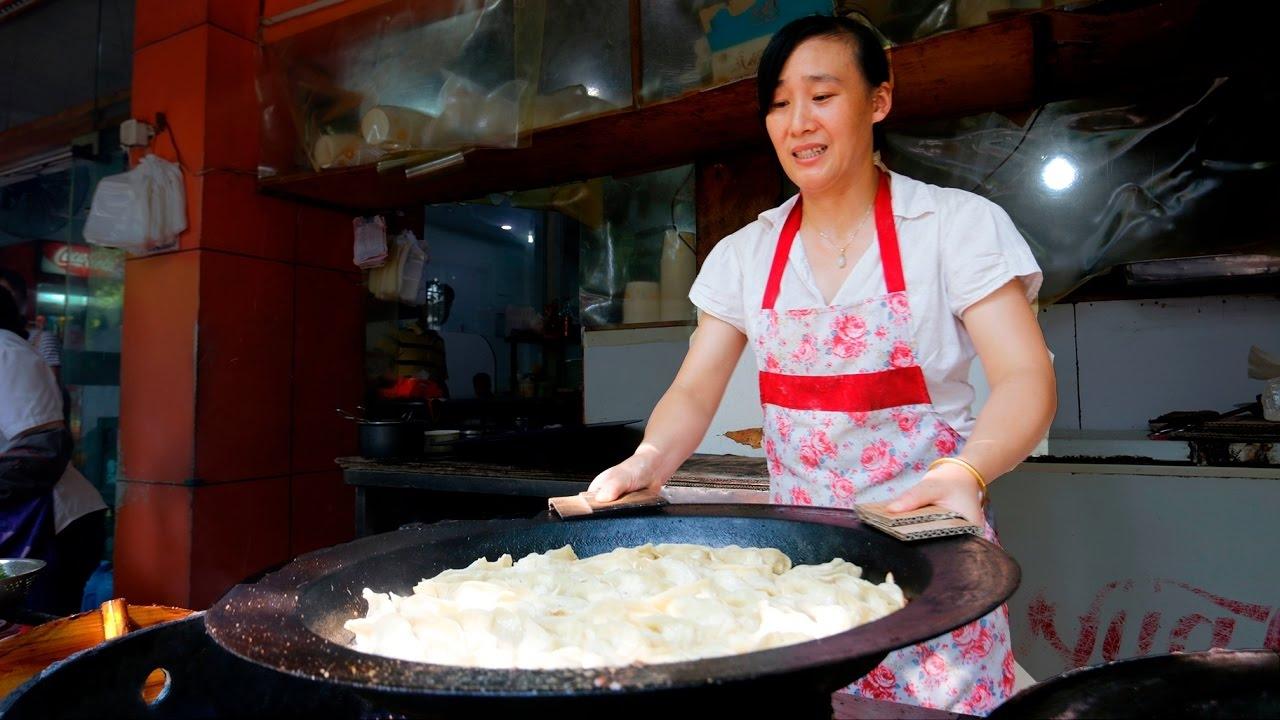 อาหารข้างทางที่หางโจ จีน