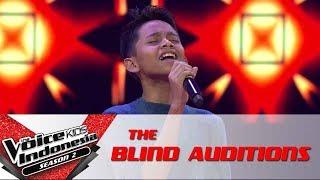 "Devan ""Cukup Tau"" | The Blind Auditions | The Voice Kids Indonesia Season 2 GTV 2017"