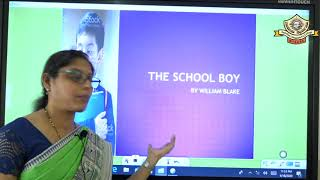 I PUC\ English\ The School boy- 01