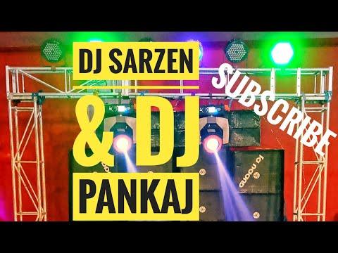 Dj Sarjen And Dj Pankaj Type Dj With Sarfee Full DJ Setup On Guddu DJ With Fully Competition Setup