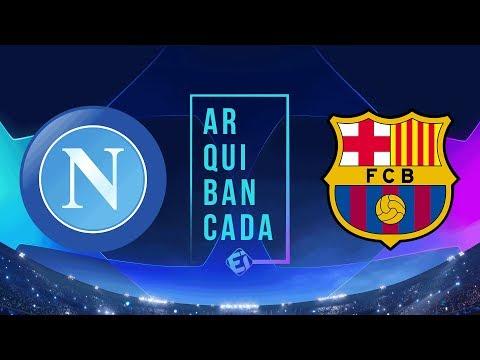 NAPOLI x BARCELONA (narração AO VIVO) - Champions League