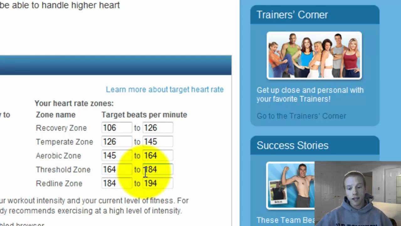 {Target Heart Rate Zone} How To Calculate It For P90X ...