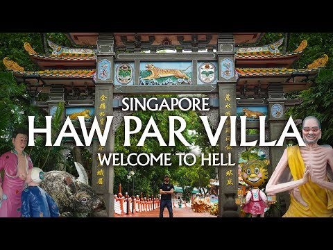Singapore - HAW PAR VILLA - the most creepy abandoned amusement park in the world