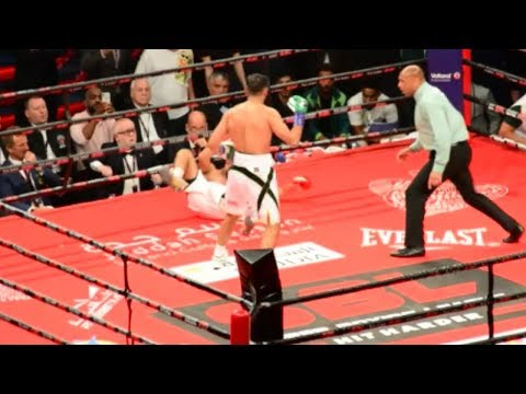 Amir Khan vs Billy Dib knockout highlights