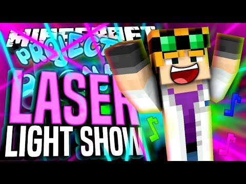 Minecraft - LASER LIGHT SHOW - Project Ozone #188