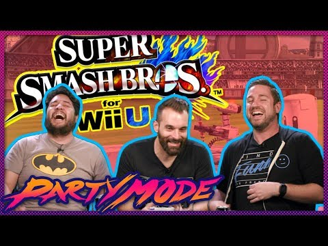 Smash Bros. Mouth to Mouth Combat - Party Mode