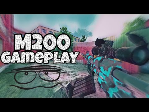 Bullet Force - M200 Gameplay