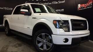 Used White 2013 Ford F-150 4WD SuperCrew 145