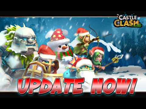 Castle Clash: Update 1.2.62 + Roll For Santa Claus +  New Dungeons