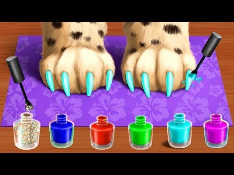 Baby Animal Hair Salon 2 - Play Cute Pet Care & Jungle Style Makeover Fun Kids Games By TutoTOONS