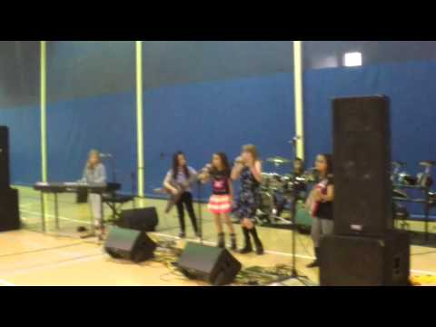 Midnight Butterfly band - Brushy Creek Talent Show