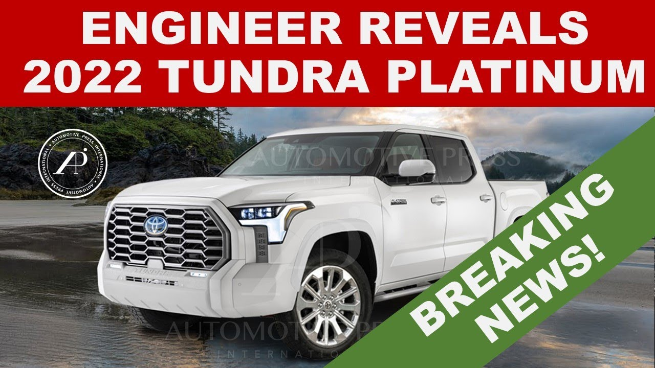 2022 TOYOTA TUNDRA PLATINUM REVEALED FOR THE FIRST TIME BY ENGINEER! - Most Accurate Image!