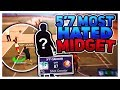 THE 5'7 MOST HATED MIDGET AT THE PARK! THE MOST CHEESIEST BUILD IN HISTORY OF 2K! NBA 2K17