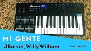 Mi Gente J Balvin, Willy William Instrumental.mp3