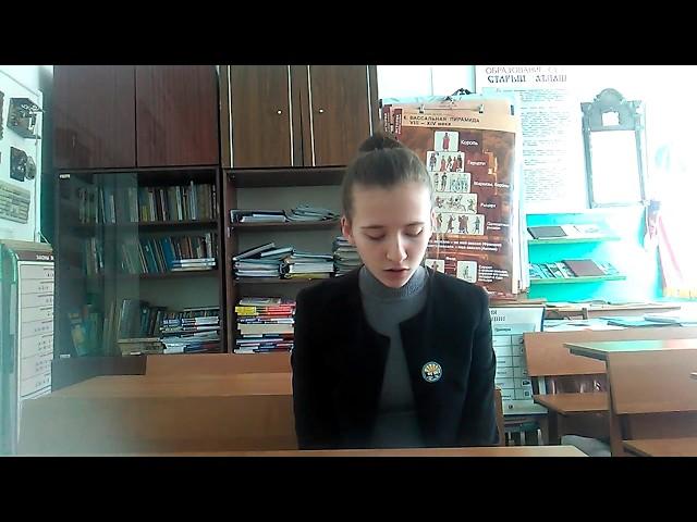 Изображение предпросмотра прочтения – АдельяЕдиханова читает произведение «Молния» А.И.Солженицына