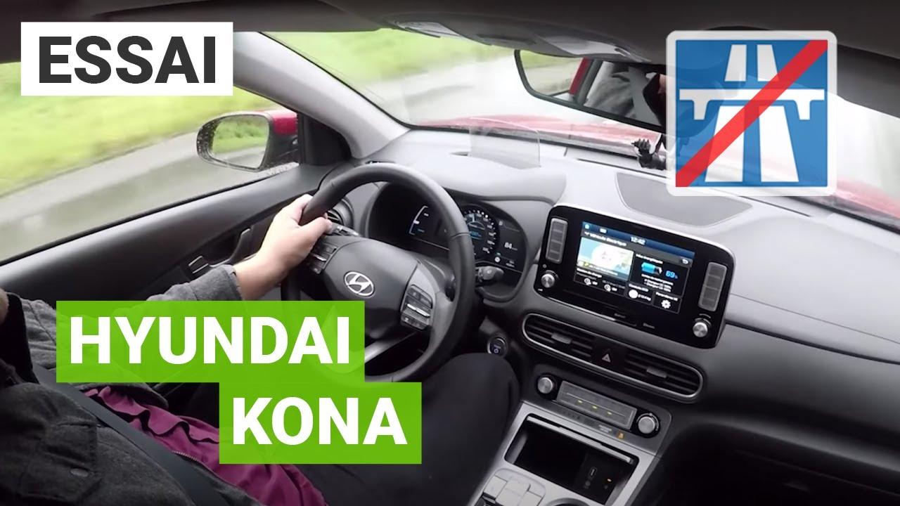 Essai Hyundai Kona 64 Kwh Bordeaux Marseille Youtube