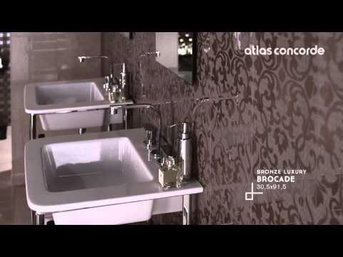 Итальянская керамическая плитка для ванной Atlas Concorde Marvel Wall Design (www.santehimport.com)
