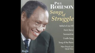 """Paul Robeson - «Song of the plains» [Vol: Songs of Struggle] / (""""Полюшко поле"""")"""