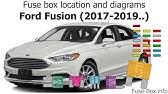 [DIAGRAM_4PO]  Fuse box location and diagrams: Ford Fusion Hybrid / Energi (2016-2019..) -  YouTube | 2016 Ford Fusion Hybrid Fuse Box Location |  | YouTube