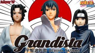 《玩具開箱》火影忍者疾風傳 Grandista Nero 宇智波 佐助 Naruto Shippuden Grandista Nero Uchiha Sasuke 臉是可以跟第一款互換!!