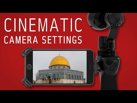 DJI Osmo | Best camera settings | Shutter Speed, ISO, Frame Rate, Anti Flicker, more