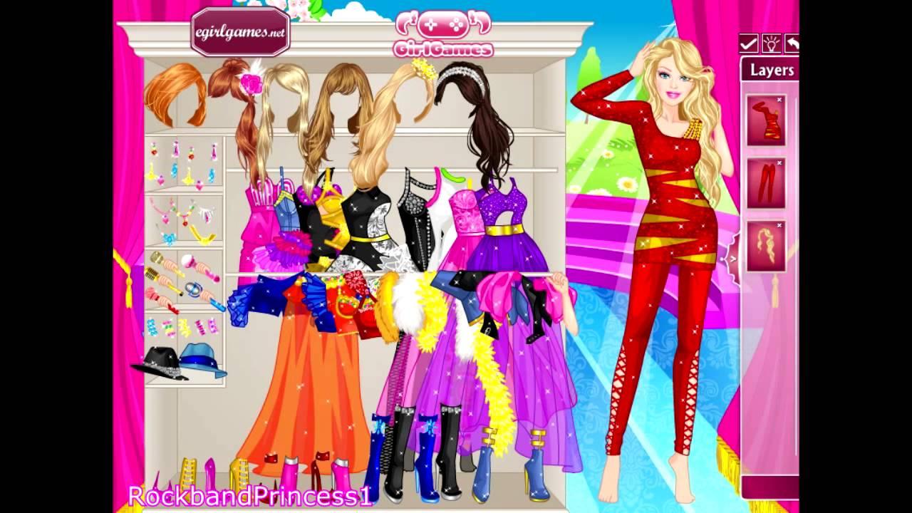 Barbie Dress Up Games To Play Online Barbie Concert