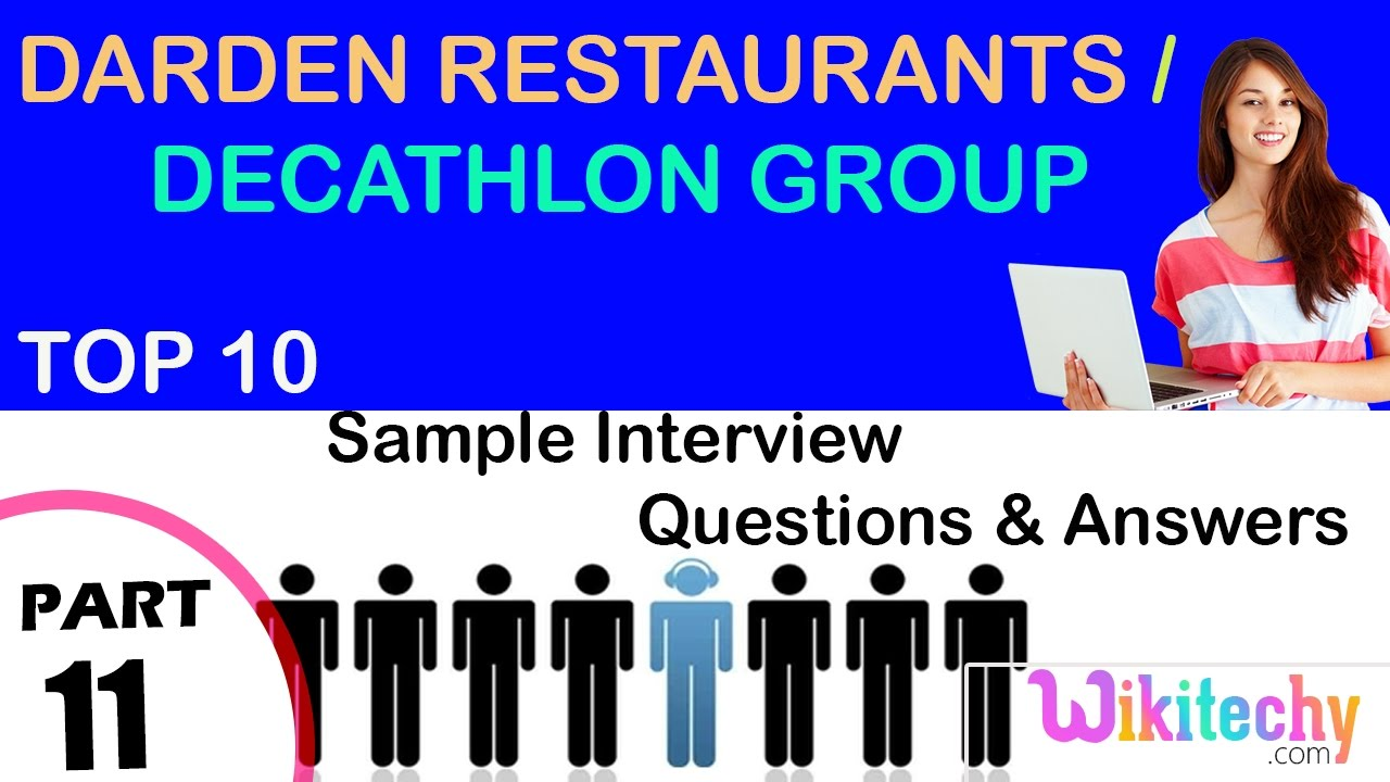 restaurant manager interview questions and answers